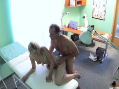 Doctor fucks hot pigtailed...